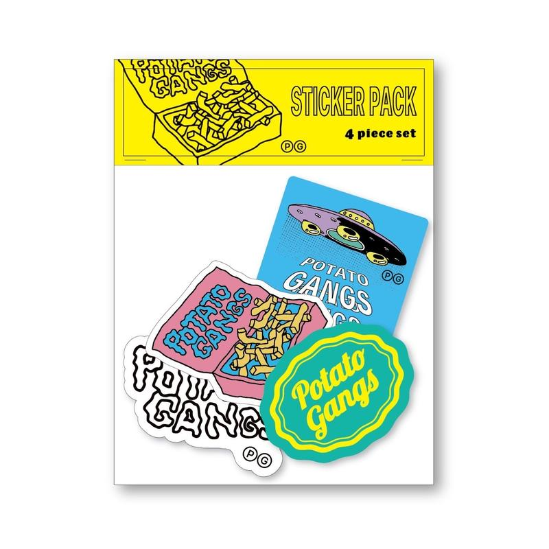 STICKER PACK (4 piece set)