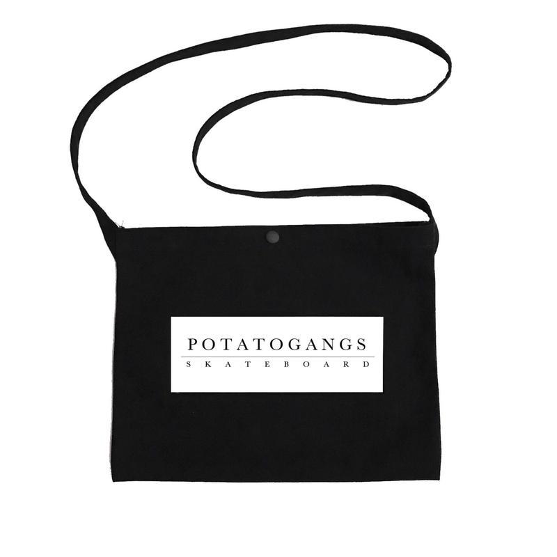 POTATOGANGS SKATEBOARD sacoche bag