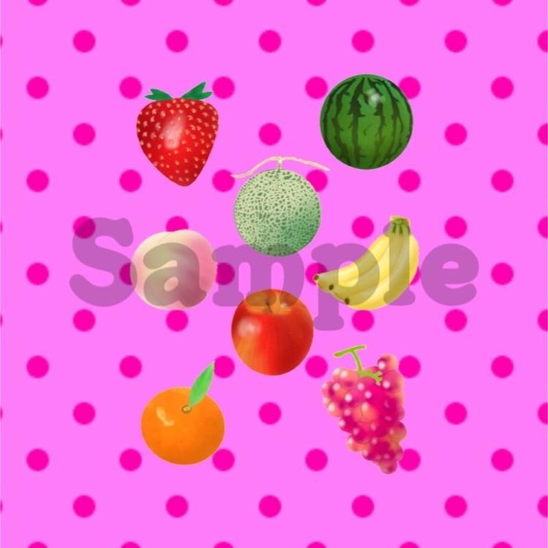 コラージュ素材*Fruits