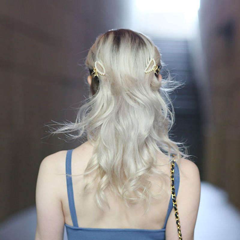【pour Mademoiselle】パールヘアクリップ2