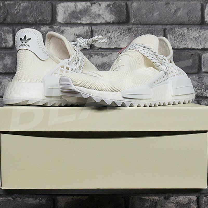 "Pharrell Williams x adidas Originals NMD  ""HUMAN RACE"" White AC7031 US11 アディダス ファレル"