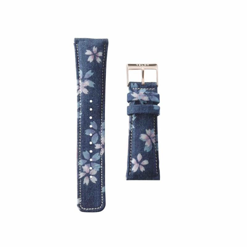 Blossom Denim Dark Belt