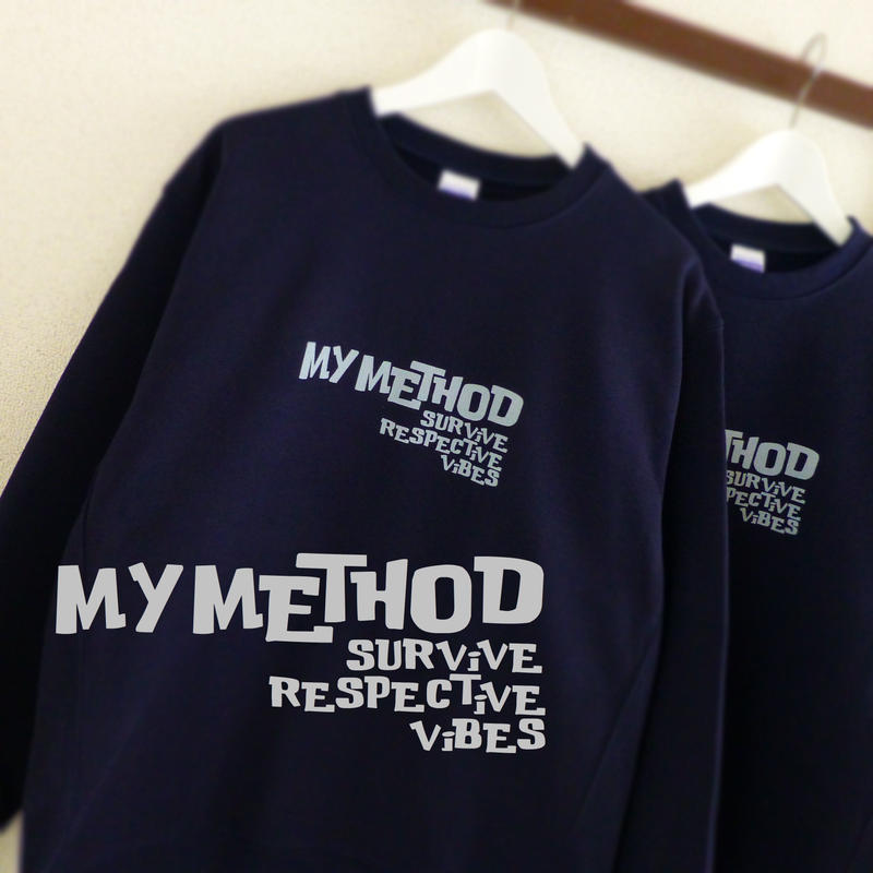 SWEAT SHiRT - MY METHOD -