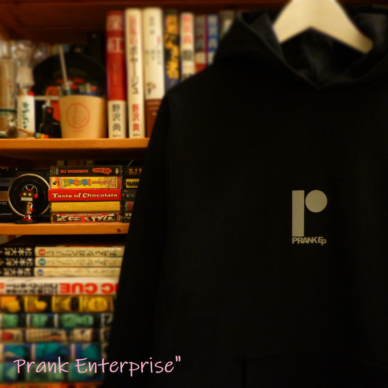 "HOODED SWEAT PULLOVER 12.0oz ""LiNE BLACK"" - PRANK Ep -"