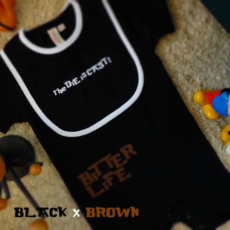 ROMPERS 5.6oz and BiB - BiTTER LiFE - #BLACK x BROWN