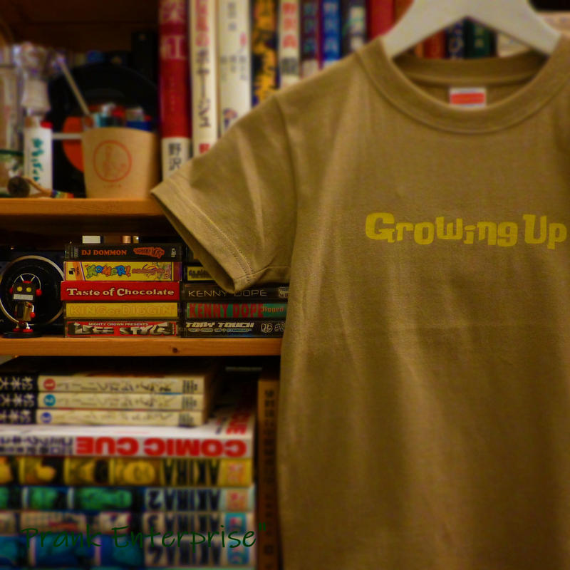 T SHiRT 5.6oz for KiDS - Growing Up - #SANDKHAKi x YELLOW