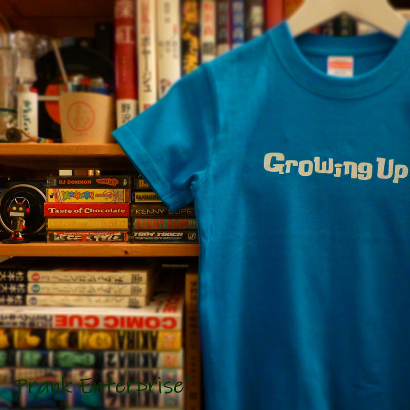 T SHiRT 5.6oz for KiDS - Growing Up - #TURQUOiSEBLUE x WHiTE