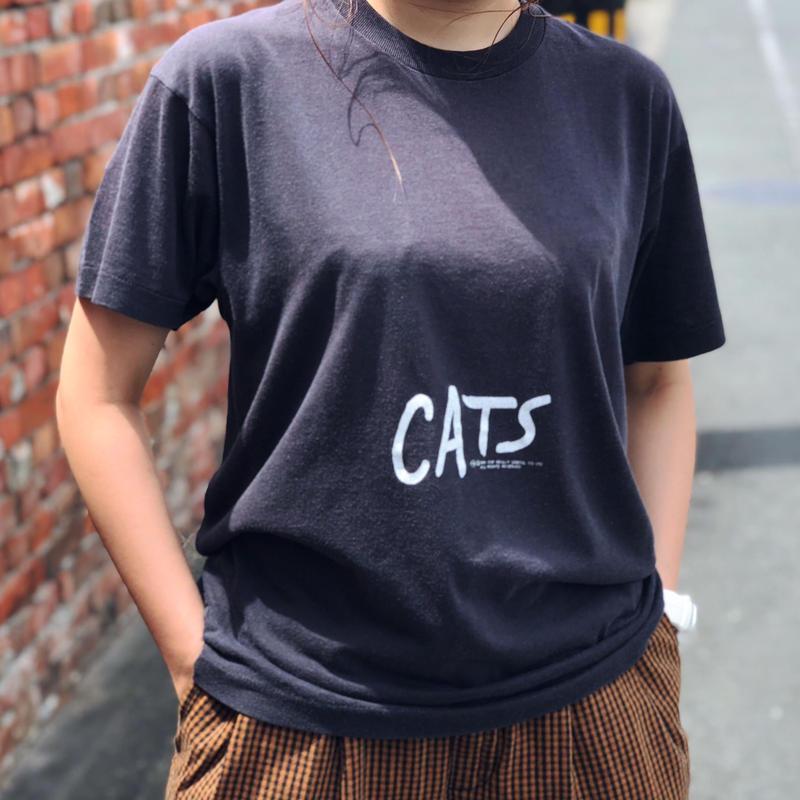 1981年製ブロードウェイミュージカルCATS Tシャツ