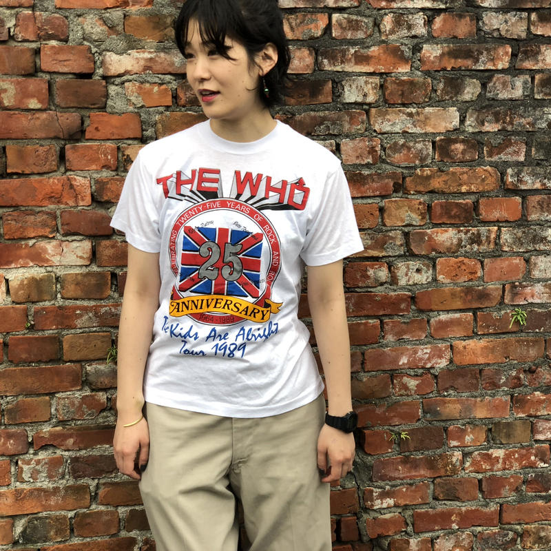 THE WHO  1989Tour  T