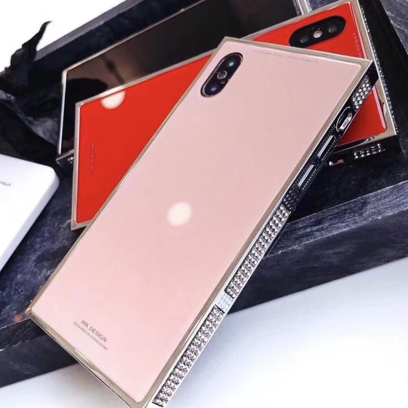 iphone xs ケース おしゃれ シンプル ピンク キラキラ
