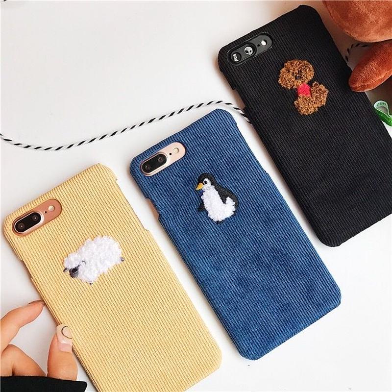韓国  iphonecase  スマホケース アイフォンケース かわいい プードル ペンギン ひつじ 動物 アニマル 8 8Plus X XS max  XR iPhone6 iPhonexr
