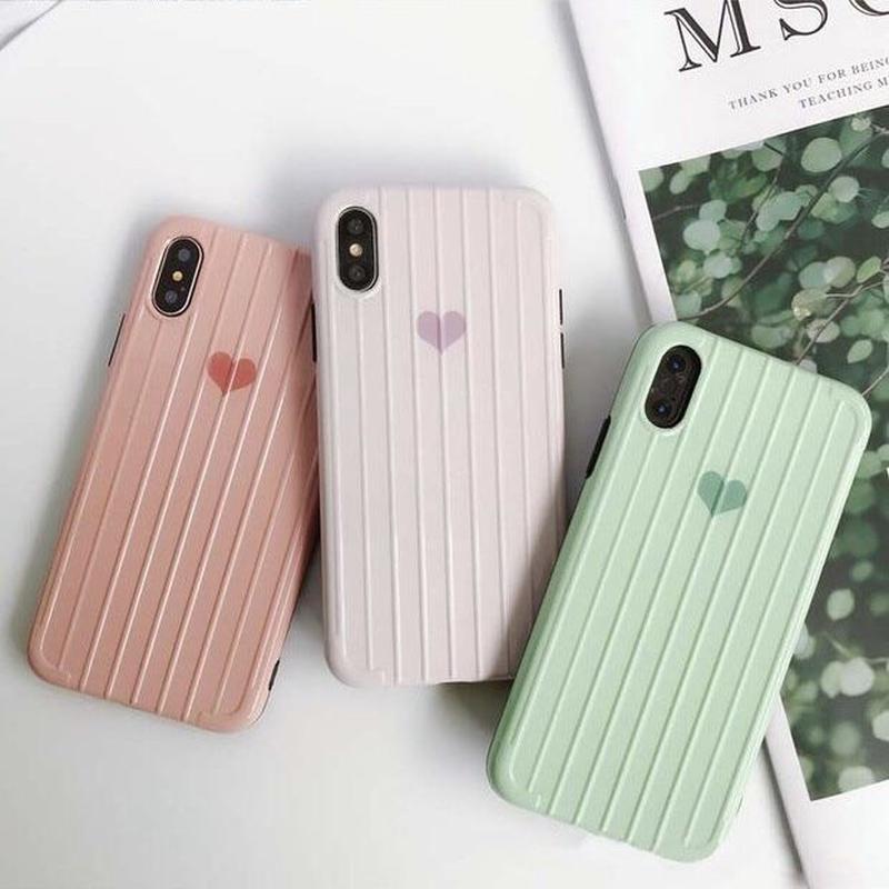 ハート iphonecase スマホケース アイフォンケース 韓国 かわいい 通販 カバー  流行り 人気 おすすめ おしゃれ お洒落 海外 シンプル 可愛い 7 8 X XS XR max plus