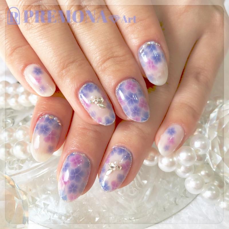 【10枚セット】紫陽花(あじさいブルー)/SET1440-1449
