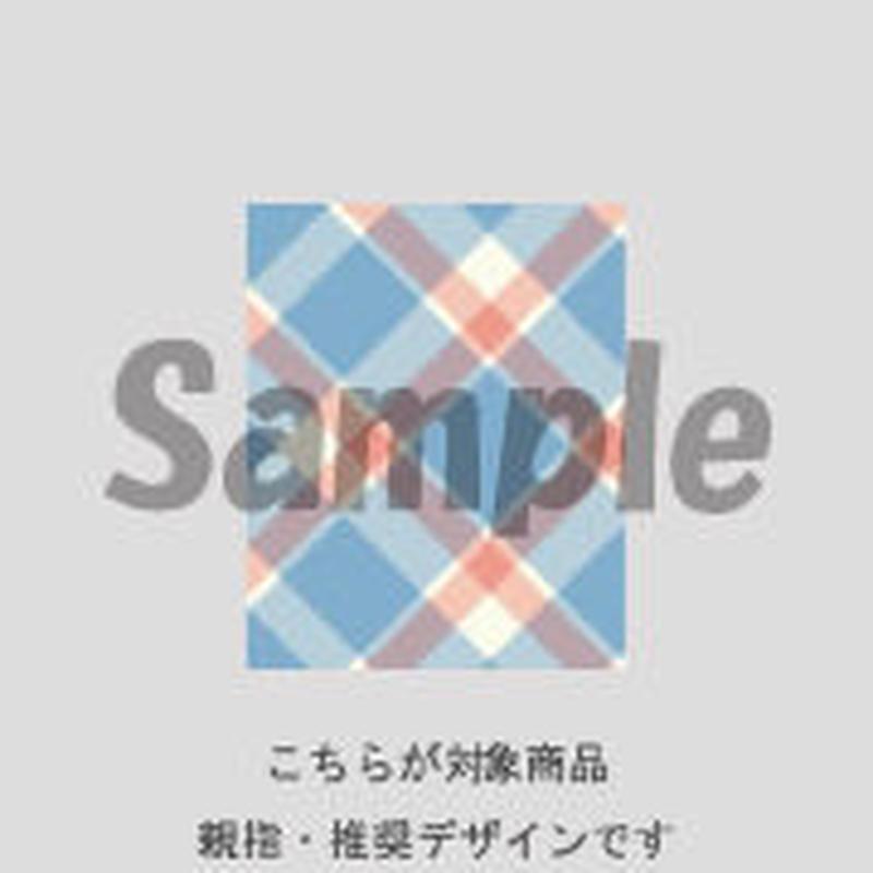 【親指用】斜めチェック (ブルー)/170