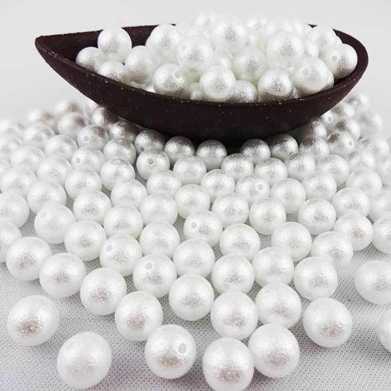 エアーパール air pearl パール 樹脂 ホワイト 12mm 8ヶ入 ap-airpearl12