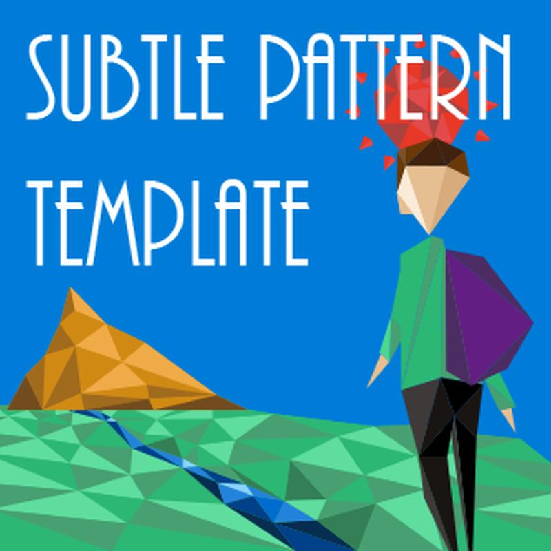 Prezi Subtle Pattern Template