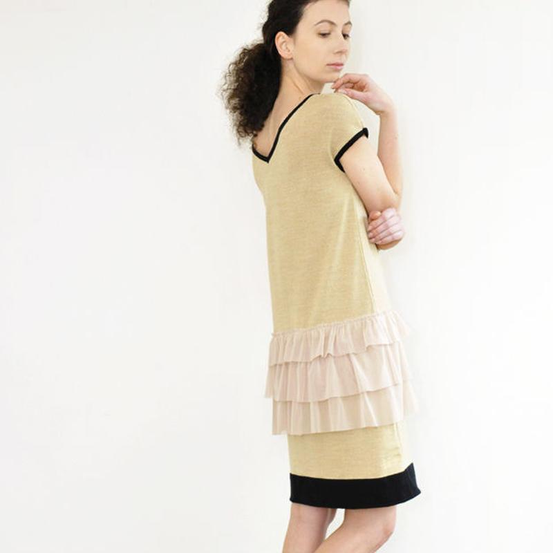 flapper knit Dress