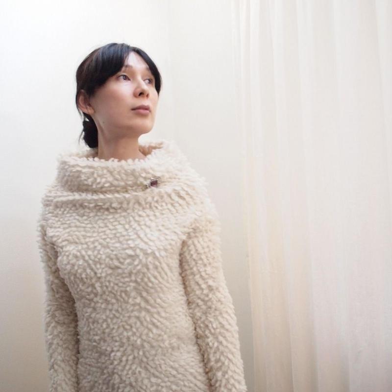 loop bijou Pullover off white