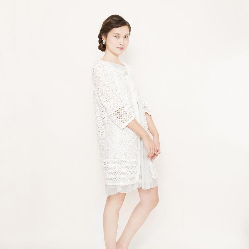 crochet lace Coat