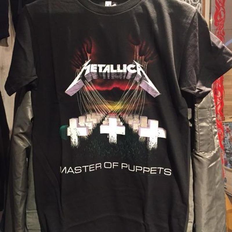 メタリカ MSSTER OF PUPPETS Tシャツ
