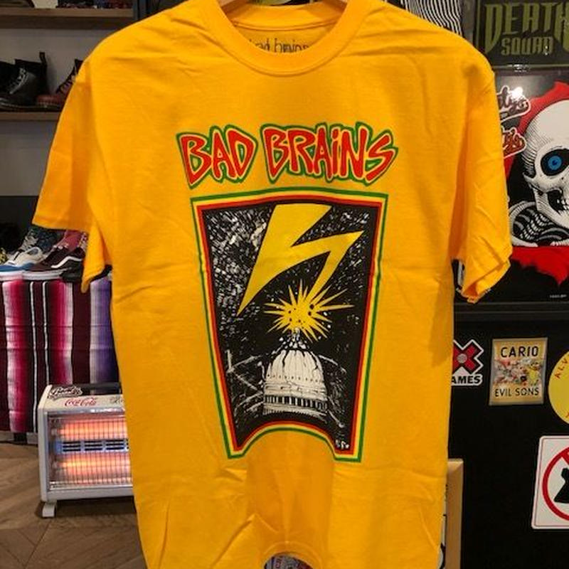 BAD BRAINS CAPTOL Tシャツ
