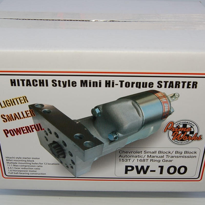 ハイトルク スターターモーター HITACHI Style Mini Hi-Torque Starter シボレー GM アメ車 修理 車検 カスタム