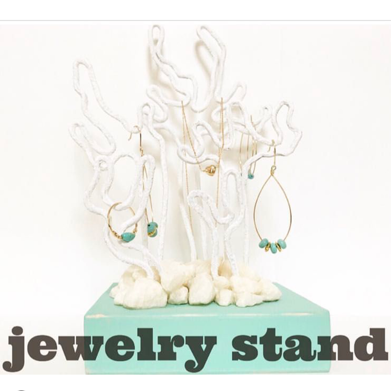 コーラルモチーフjewelry stand