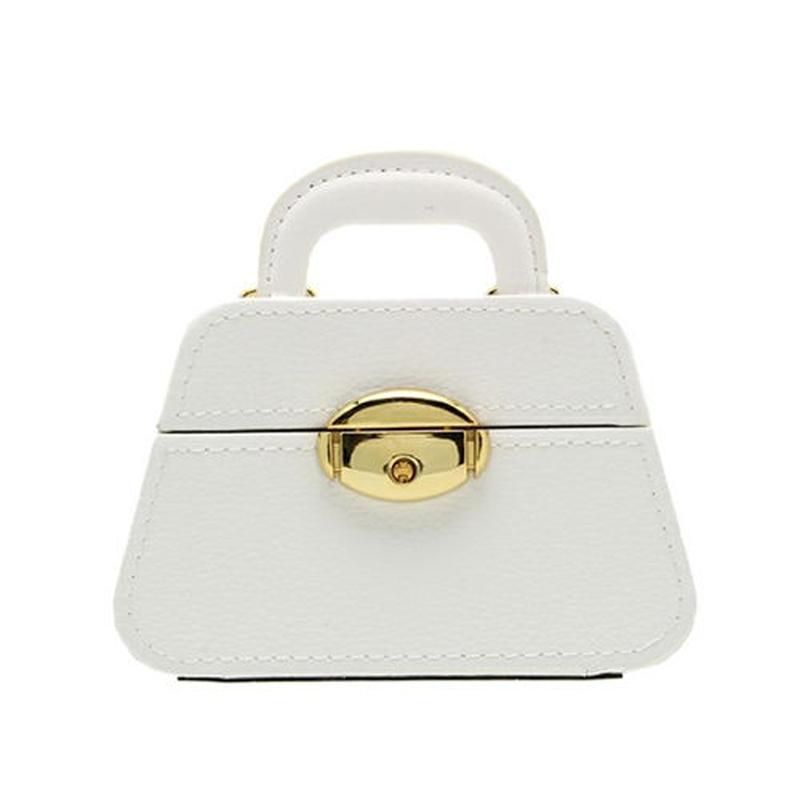 SIRO ENOGU WATCH&JBOX(BAG) [シロ エノグ ウォッチアンドジュエリーボックス(バック)] WHITE/ホワイト