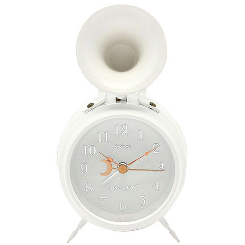 Bugle Clock (First)WH [ビューグルクロック・ファースト WH] WHITE/白