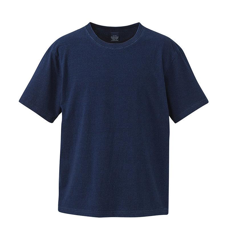 5.3オンス インディゴTシャツ