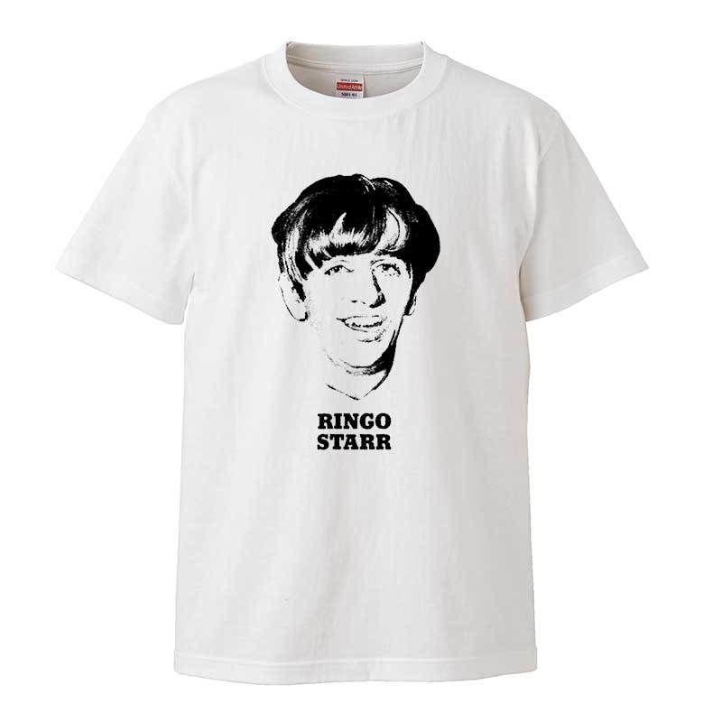 【RINGO STARR/リンゴスター】5.6オンス Tシャツ/WH/ST- 153