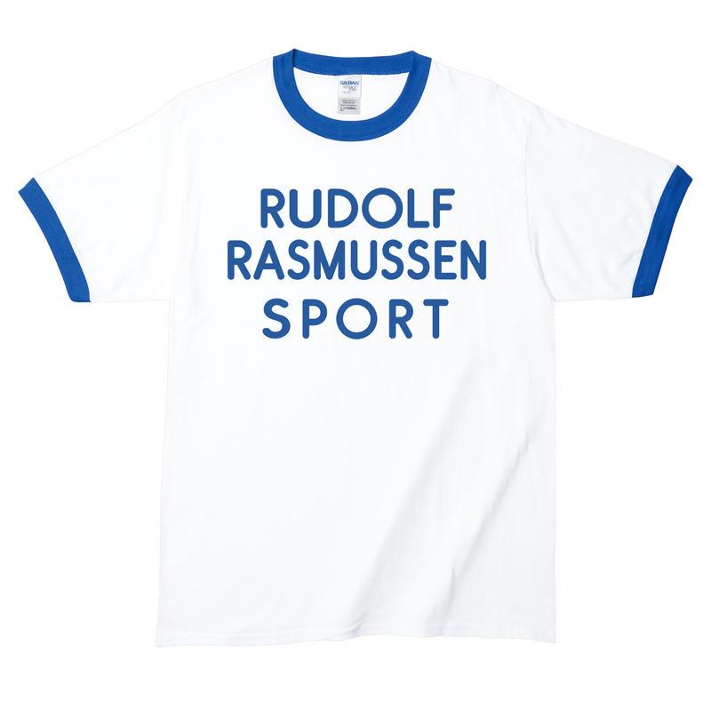 【Rudolf Rasmussen Sport/ブライアン・ジョーンズ】5.3オンス Tシャツ/WH/RT- 241