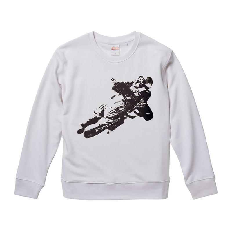 【johnny rotten-ジョニー・ロットン/Sexpistols】9.3オンス Tシャツ/WH/SW- 281