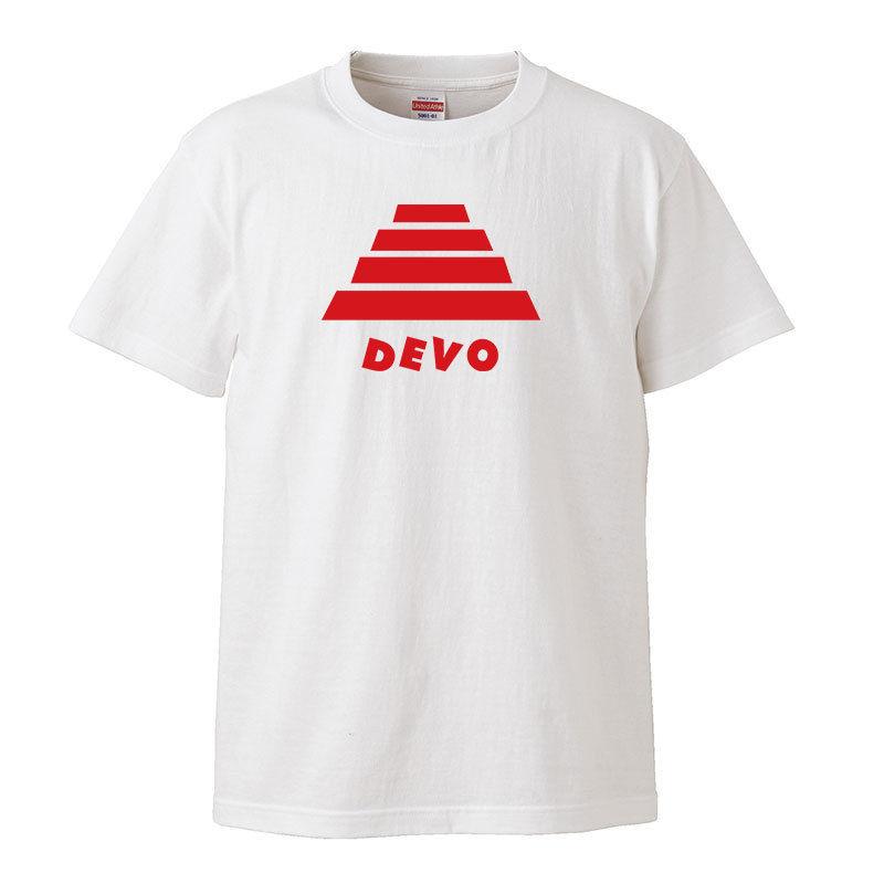 【DEVO-ディーボ/Energy Dome Hat】5.6オンス Tシャツ/WH/ST- 333