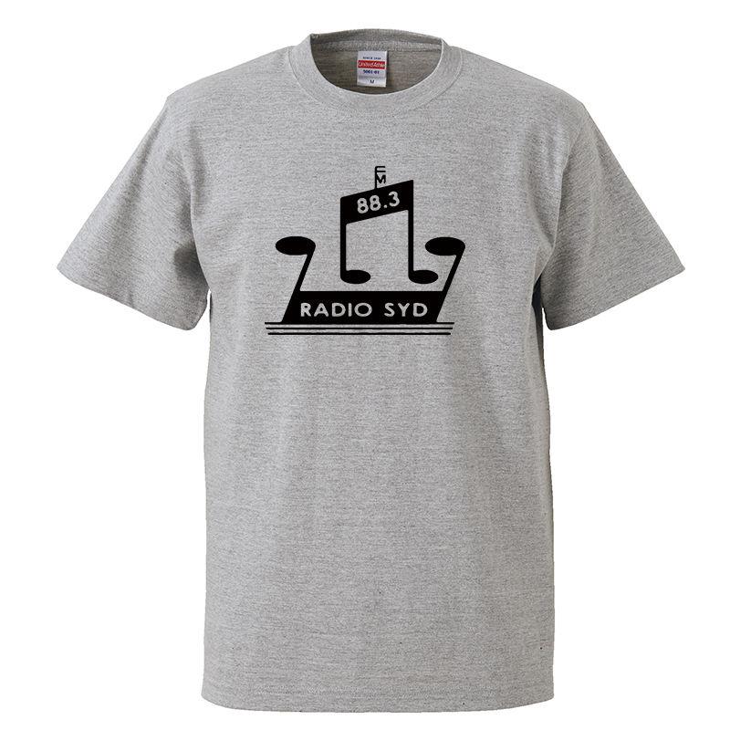 【RADIO SYD/ブライアン・ジョーンズ】5.6オンス Tシャツ/GY/ST-007_bk