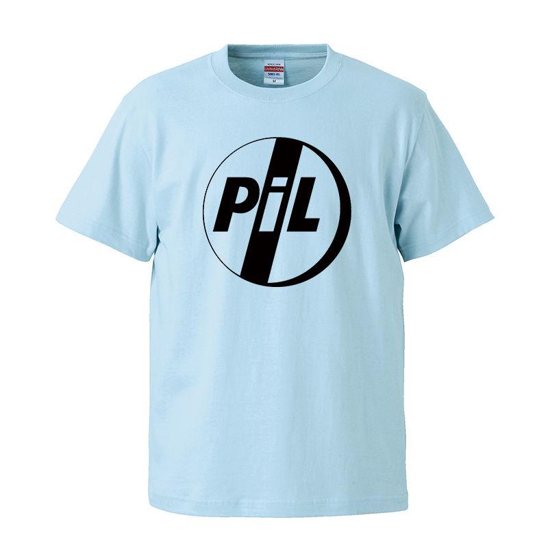 【PIL/ピル-ロゴ】5.6オンス Tシャツ/BL/ST- 330