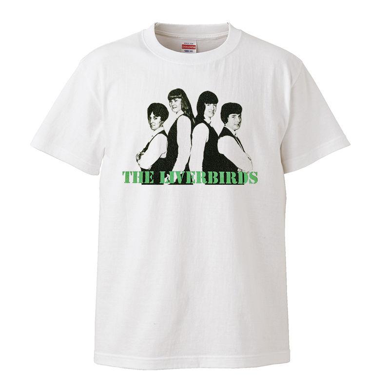 【The Liverbirds/ザ・リバーバーズ】5.6オンス Tシャツ/WH/ST- 216