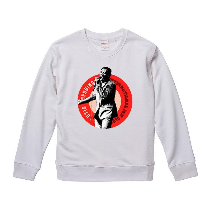 【Otis Redding Fan club/オーティス・レディング】9.3オンス スウェット/WH/SW-201