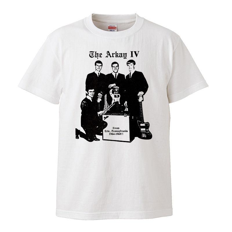 【The Arkay IV/アーケイ・フォース】5.6オンス Tシャツ/WH/ST- 349