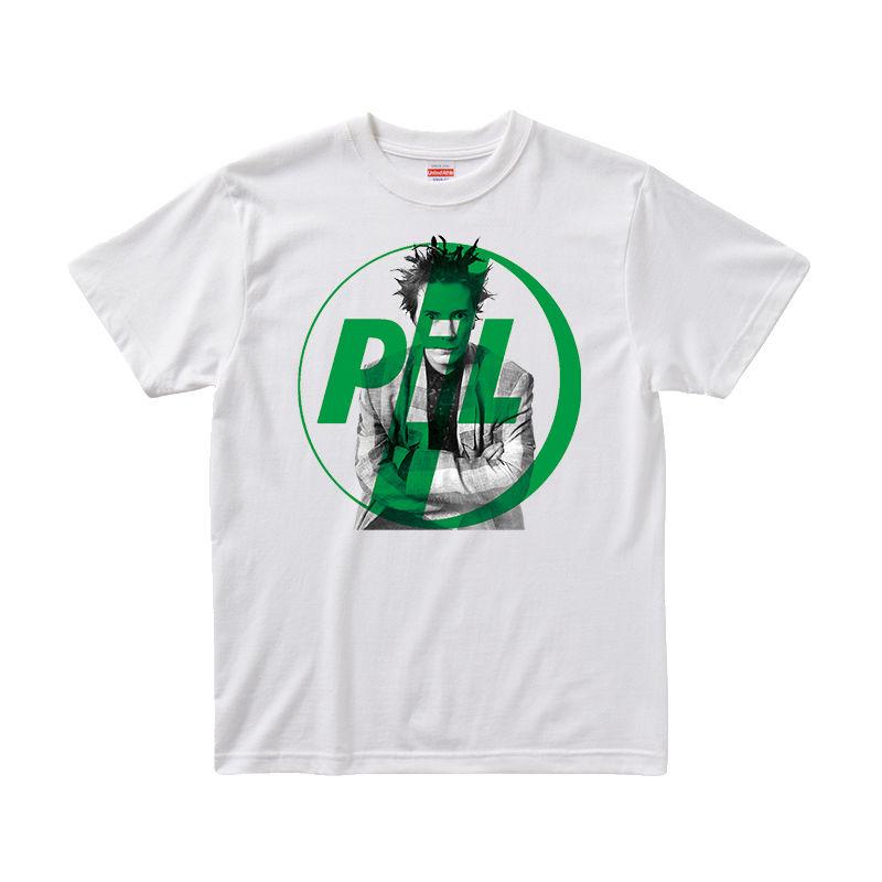 【パブリックイメージリミテッド/Public Image Limited.(PIL)】ジョン・ライドン 5.6オンス Tシャツ/WH/ST-003_GR