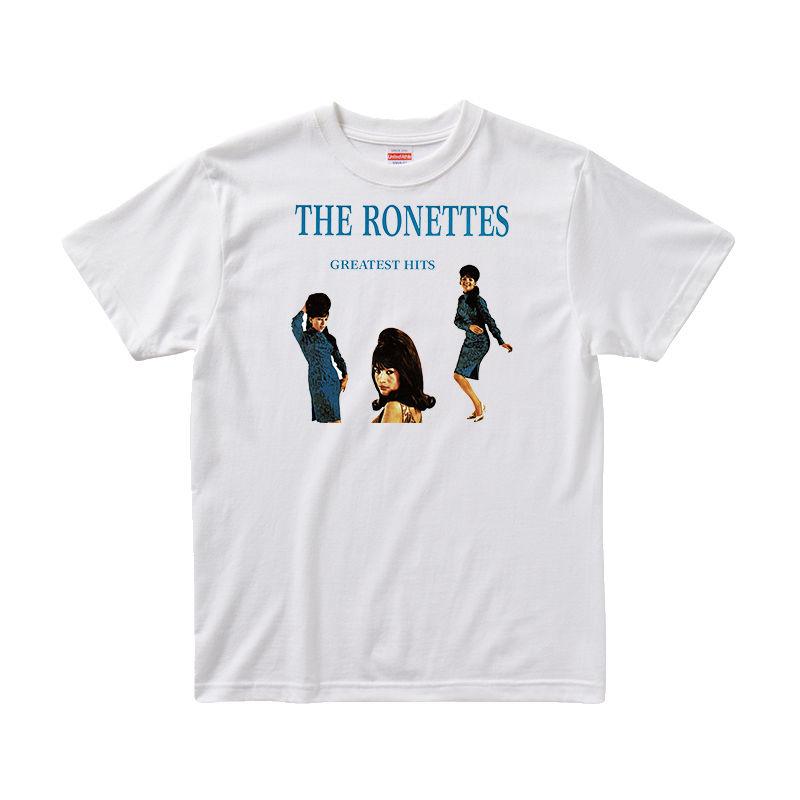 【ザ・ロネッツ/The Ronettes】5.6オンス Tシャツ/WH/ST-013