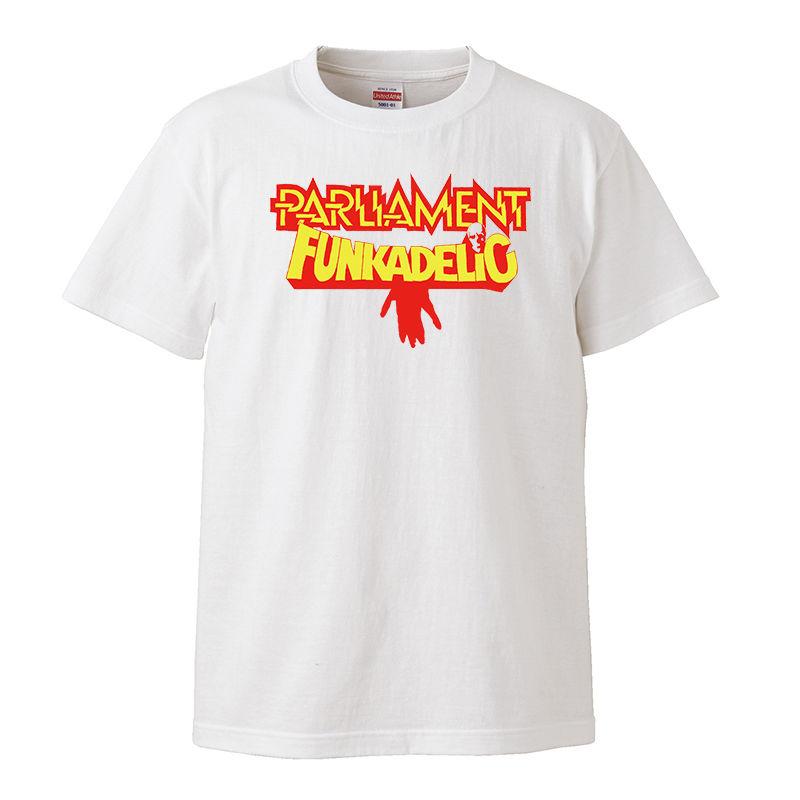 【Parliament Funkadelic/パーラメント・ファンカデリック】5.6オンス Tシャツ/WH/ST-026