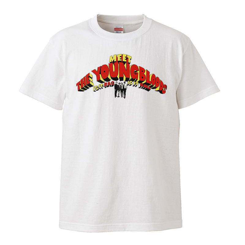 【The Youngbloods-ヤングブラッズ/IS IT RAG IS IT ROLL】5.6オンス Tシャツ/WH/ST- 286