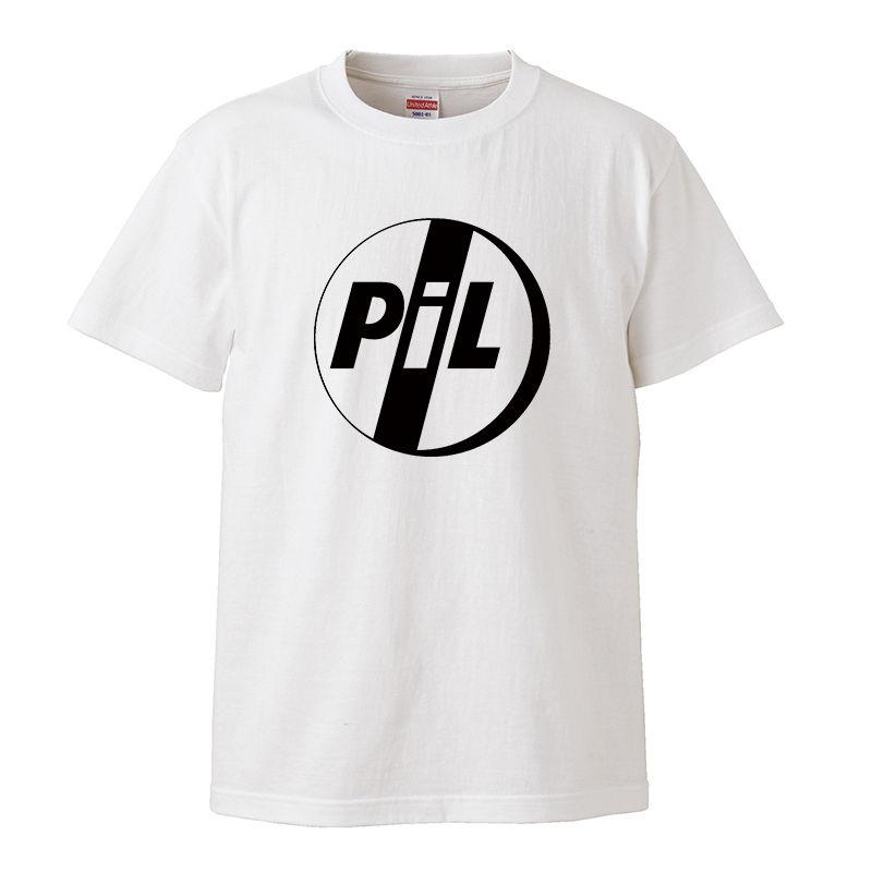 【PIL/ピル-ロゴ】5.6オンス Tシャツ/WH/ST- 330