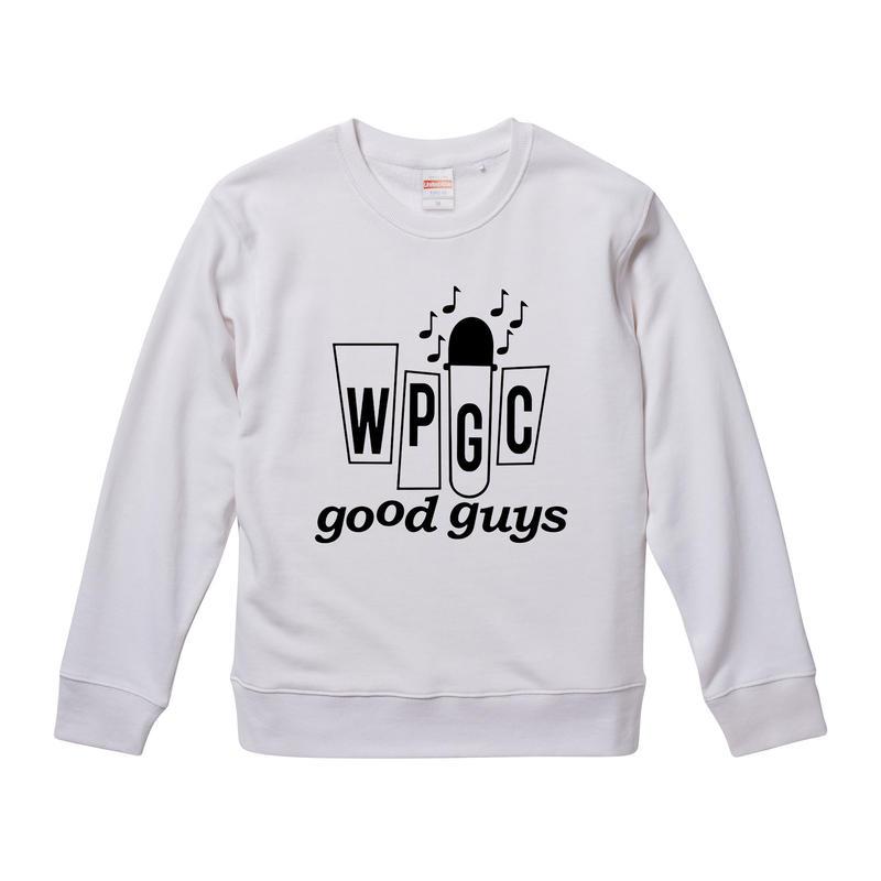 【WPGC good guys】ジョンレノン着用リプロダクト 9.3オンス スウェット/WH/SW- 337