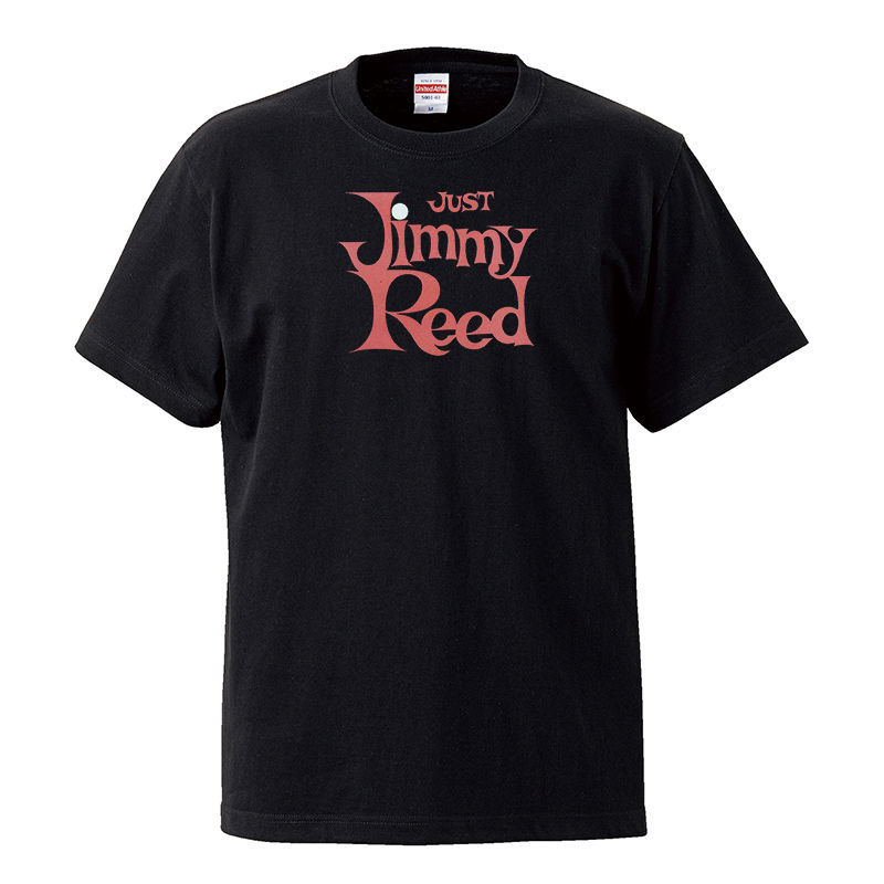 【Jimmy Reed-Just Jimmy Reed/ ジミー・リード】5.6オンス Tシャツ/BK/ST-111