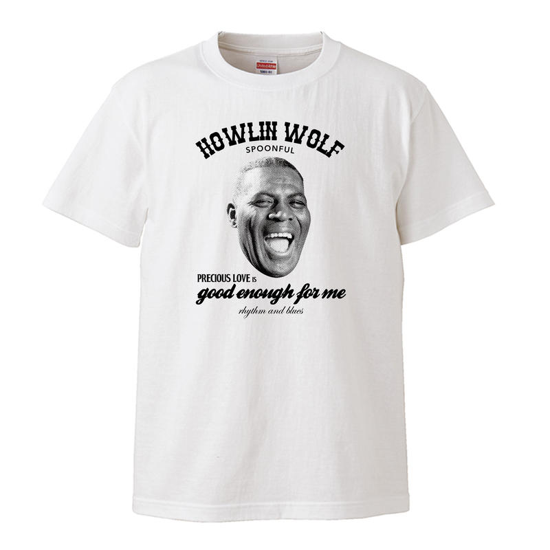 【Spoonful-Howlin Wolf/ハウリンウルフ】5.3オンス Tシャツ/WH/ST- 248