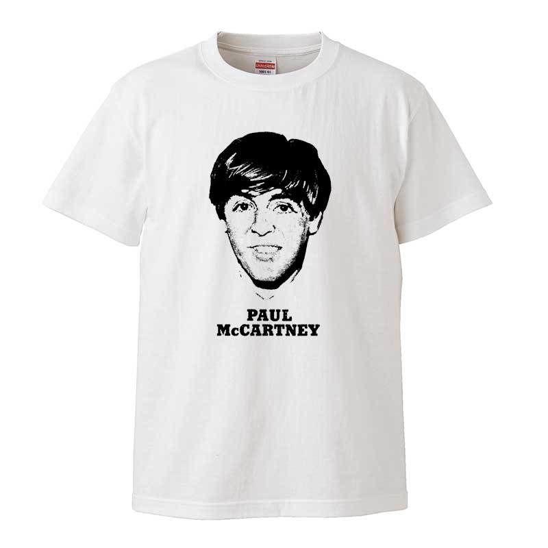 【Paul McCartney/ポールマッカートニー】5.6オンス Tシャツ/WH/ST- 154