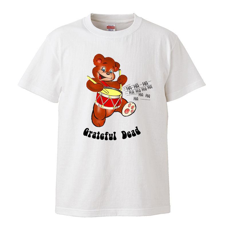 【Grateful Dead-グレイトフルデッド/CUTIE BEAR】5.6オンス Tシャツ/WH/ST- 328