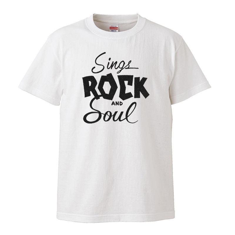 【Sings Rock and Soul/alton ellis-アルトン・エリス】5.6オンス Tシャツ/WH/ST- 294